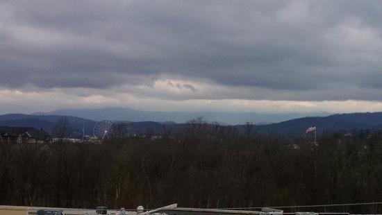 Music Road Resort Inn: view from balcony