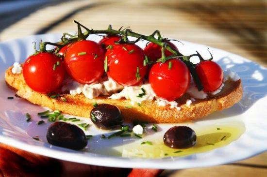 Shema Villa Bed and Breakfast Cyprus: Gourmet breakfast different every day