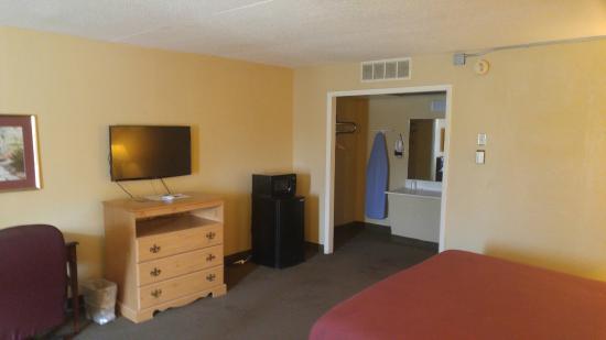 Conway, Арканзас: King Single Room