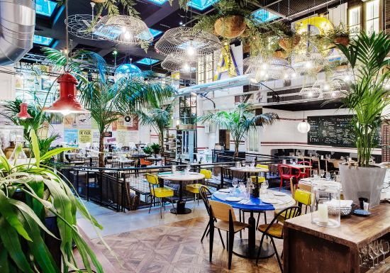 Ultramarinos barcelone la rambla restaurant avis for Appart hotel barcelone avec piscine