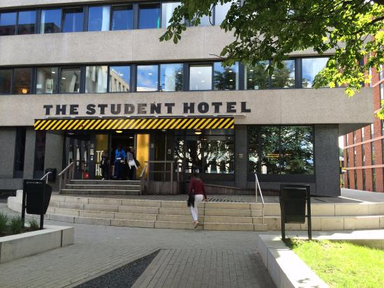 Fachada Picture Of The Student Hotel Amsterdam West