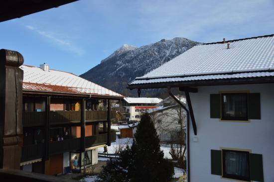 Ferienpark Alpina: Ausblick vom Balkon