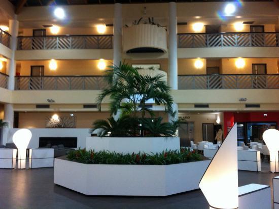 Atlanthal : Hall de l'hotel Athantal