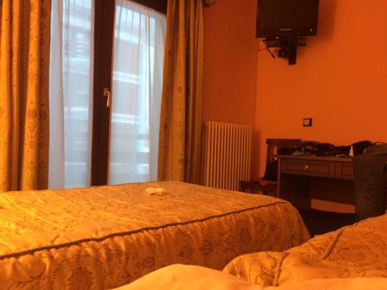 Hotel Breuil : Bedroom