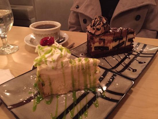 Palmyra, PA: Grouper.   And amazing desserts