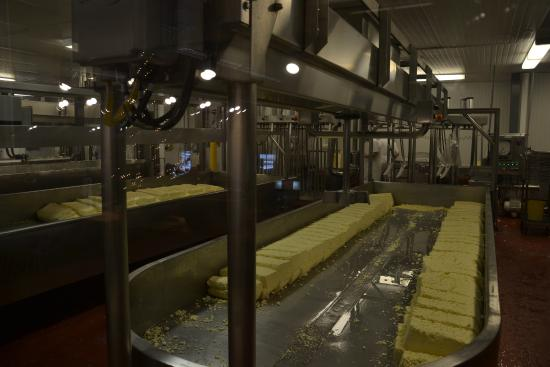 Grafton, VT: making cheese