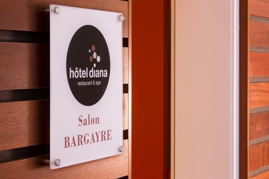 Diana Hotel Restaurant & Spa : Meeting Room