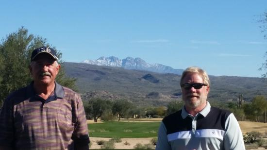 Tonto Verde Golf Club: Four Peaks in the Background