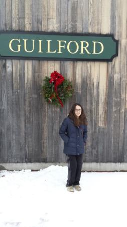 Guilford, VT: side of the center