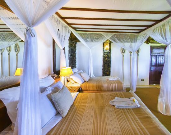 Guest Bedroom @Rusinga Island Lodge
