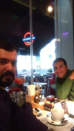 Delicious lunch with my brother