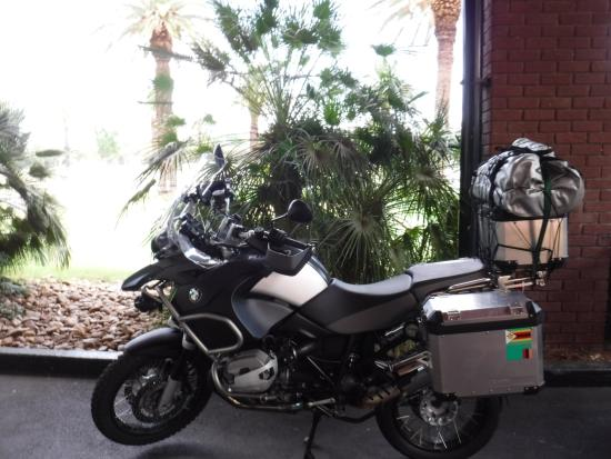 Peermont Walmont at The Grand Palm: VIP Parking for Adventure Bikes