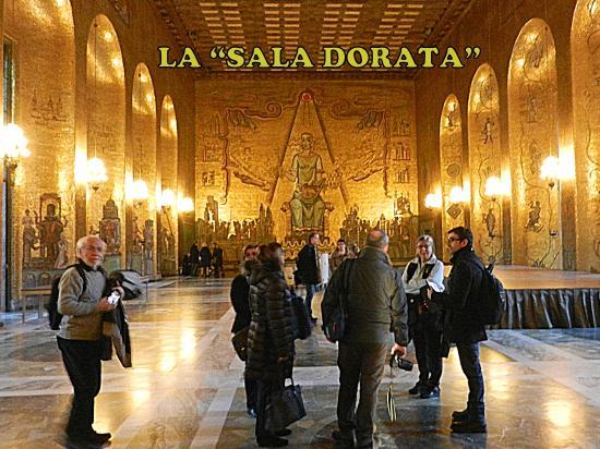 StockholMania Tours - Visite guidate a Stoccolma in italiano: con Federico al Municipio di Stoccolma