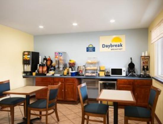 Days Inn Greenwood SC : Breakfast Area