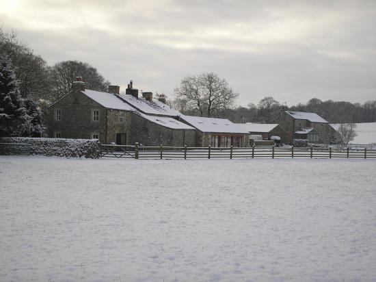 Bell Busk, UK: Green Grove in the scenic snow