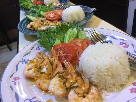 The Jasmine Rice Restaurant: Recommend menu