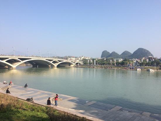 Guilin Jiefang Bridge: My hometown…