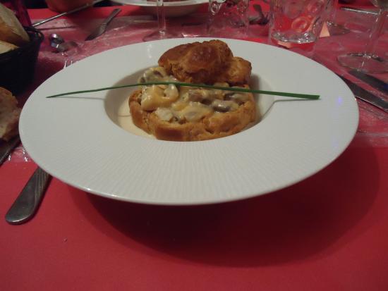 Vol aux vent de fruit de mer photo de secrets de cuisine for Secrets de cuisine