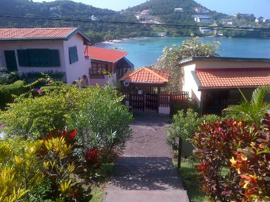 Saint George Parish, Grenada: Steps down and view from top of steps