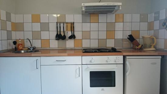 Caudies de Fenouilledes, ฝรั่งเศส: mini kitchen