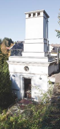 Hotel Trafohaus: Trafohaus von oben