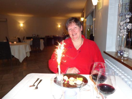 Rochefort, بلجيكا: Anniversaire de mon épouse.