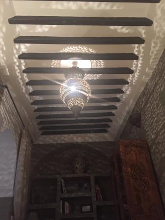 Riad Tawargit: Common area of the Riad