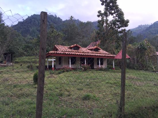 Nebaj, Guatemala: A 'casa de remsis' (homes built by Guatemalans in the US)