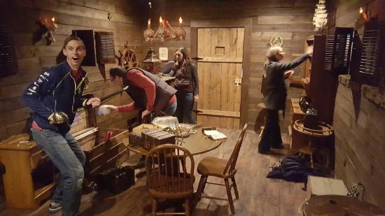 The Secret Chambers Escape Room