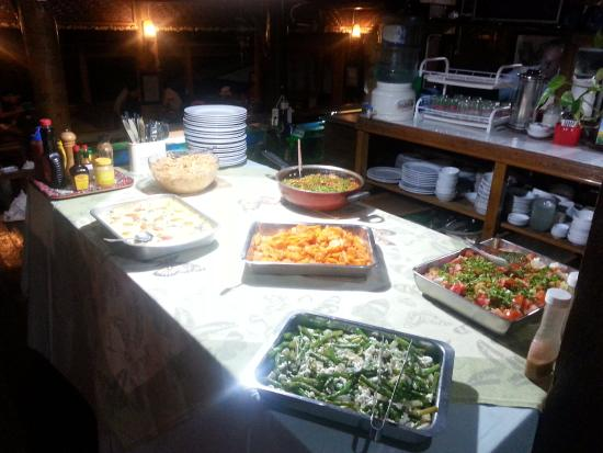 the buffet dinner which had also a good spread of vegetarian dishes rh tripadvisor co za