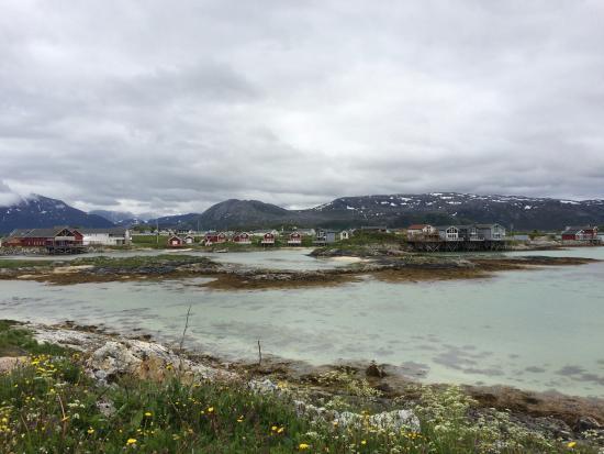 Sommaroy, Noruega: Hotellet ligger vakkert til