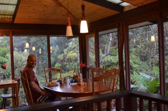 Volcano Inn: desayunador