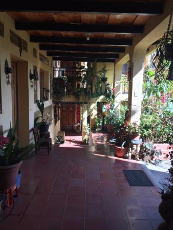 Posada El Arco: The common area