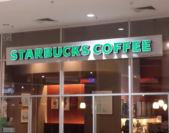 Johor Bahru District, Malasia: Sbux Aeon Bukit Indah Shopping Centre