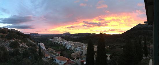 Sunrise La Vall de Laguar