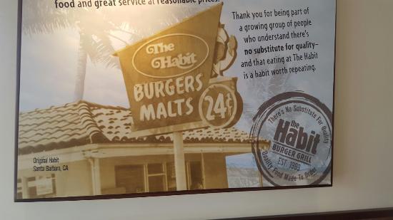 Habit Burger: Habit Double Buger and fries