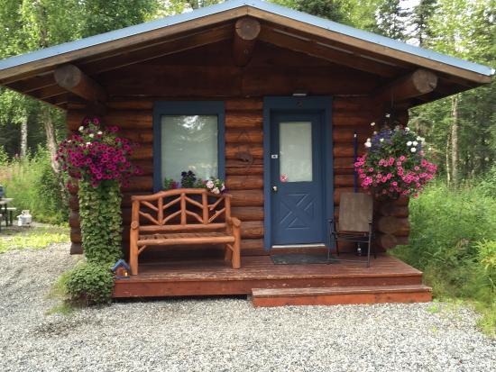 ปัลเมอร์, อลาสกา: Cabin we stayed in