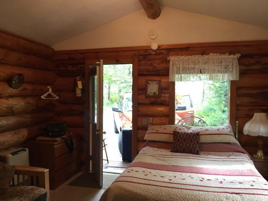 Palmer, AK: Inside of the cabin
