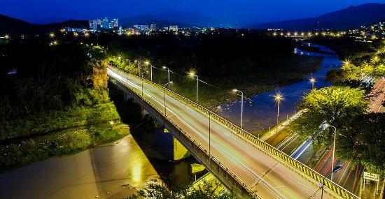 Cúcuta, Colombia: Puente de la Gasapa sobre el malecón