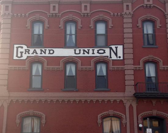 Fort Benton, MT: Grand Union Hotel Front