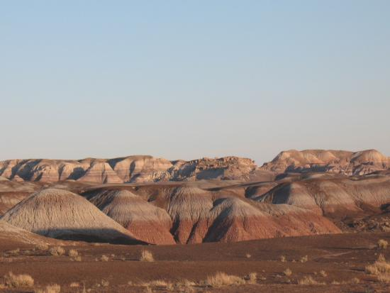 Petrified Forest National Park, AZ: Rock formations