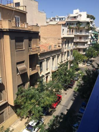 view from window picture of hotel cosmos athens tripadvisor rh tripadvisor com