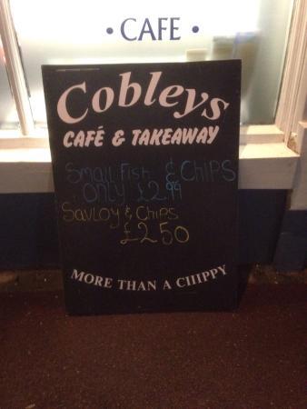 cobleys fish & chip cafe: photo2.jpg