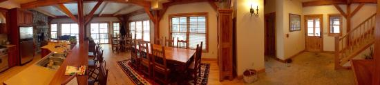 Minturn, CO: Downstairs in the River Lodge