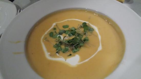 Carmel Mission Inn: Squash soup