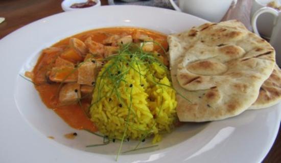 Kingsgate, UK: Kashmir curry chicken