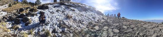 Perote, Meksyk: El camino a la peña