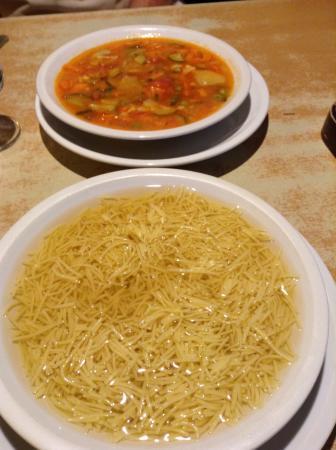 Good soup! - Picture of Ristorante Pizzeria Terrazza, Ortisei ...