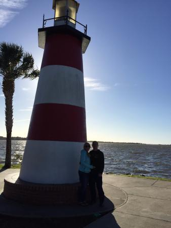 Cinnamon Inn Bed & Breakfast: Mt. Dora's lake lighthouse