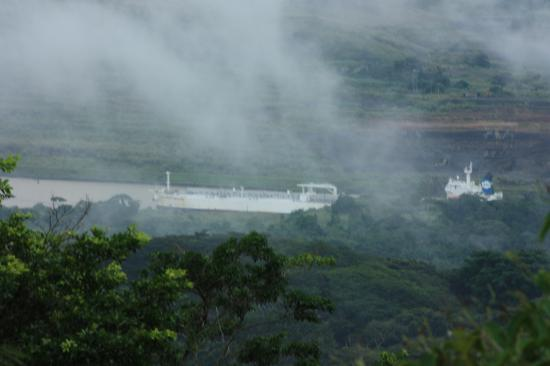 Panama Canal from Canopy Tower & Panama Canal from Canopy Tower - Picture of Canopy Tower Panama ...